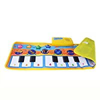 Apacy Musical Toys, New Baby Toddler Touch Play Keyboard Musical Music Singing Early Education Gym Toy Carpet Piano Mat Best Kids Gift