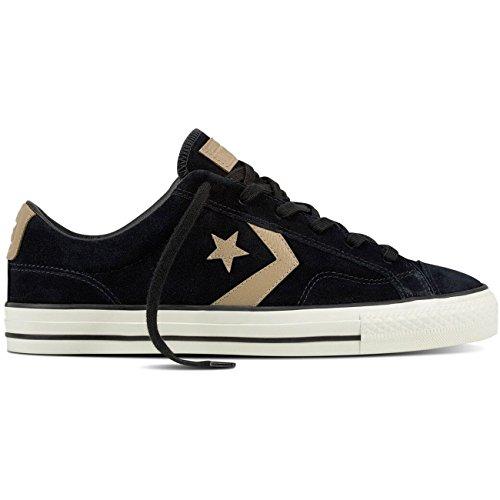 Basket, couleur Noir , marque CONVERSE, modèle Basket CONVERSE STAR PLAYER OX Noir Noir