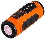 Blow BT300 Bluetooth Fahrradlampe Taschenlampe mit Lautsprecher Sprecher 3W FM Radio Mp3-Player WMA MicroSD Akku Fahrradhalterung Fahrrad Tragbar