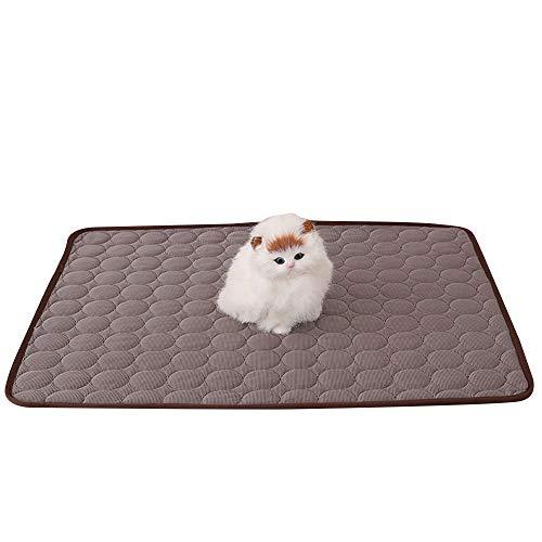 IEUUMLER Sommer Pad Zwinger Pad Pet Cooling Pad Breathable Kühlmatte Schlafmatte für Hunde Katzen...