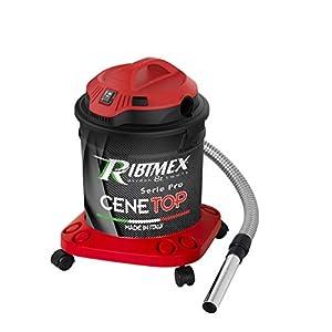 """Ribimex Aspiracenere professionale """"CENETOP"""" 1200 W 18 L con pulizia automatica filtro 41m9Y 0ZrCL. SS300"""