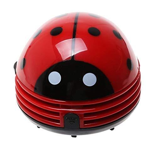 Gearmax Mini Aspirador de Mariquita, Aspiradora de Mano Aspirador de Mesa para Migas