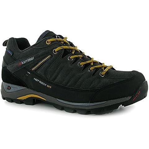 Para hombre Hot de bajo Karrimor Rock cordones zapatos de senderismo al aire libre