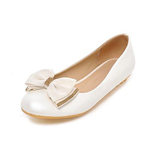 Arco-spring piatto tondo testa/Ballerine Scarpe/Sweet lady scarpe-A Longitud del pie=22.3CM(8.8Inch)