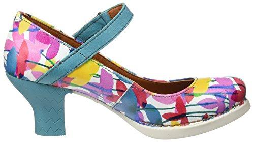 ART 0933 Fantasy Harlem, i Tacchi Alti con Punta Chiusa Donna Multicolore (Clovers)