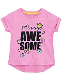 Mr Men Girls Little Miss T-Shirt Ages 18 Months To 6 Years