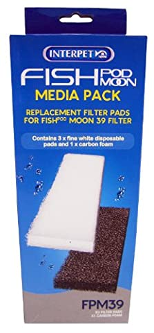 Interpet Fish Pod Moon 39 Media Pack