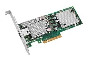 Intel 10 Gigabit AT2 Server Adapter Adaptateur réseau PCI Express 2.0 x8 faible encombrement Ethernet, 10 Gigabit Ethernet 1000Base-T, 10GBase-T