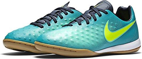 Nike Unisex-Erwachsene 844422-375 Hallenfußballschuhe TURBO GREEN/NIGHTSHADE/MATTE S