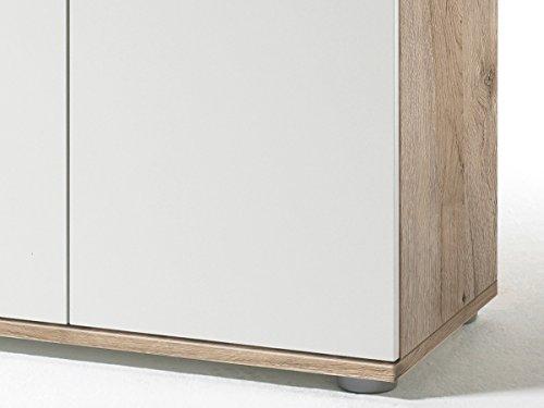 "Kommode Sideboard Anrichte TV-Lowboard Lowboard in inkl. Beleuchtung ""Light"" (Kommode (60039) 69 x 108 x 34 cm) - 3"