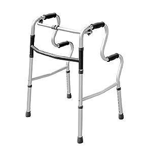 Leichte Aluminium-Klapp Gehhilfe Laufhilfe ist