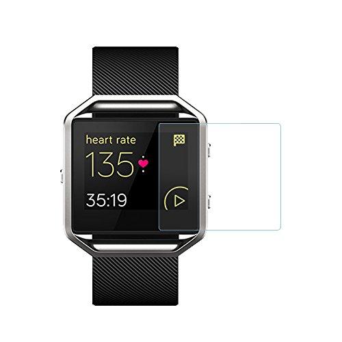 84186e014326 Protector de pantalla de cristal templado para reloj inteligente Fitbit  Blaze