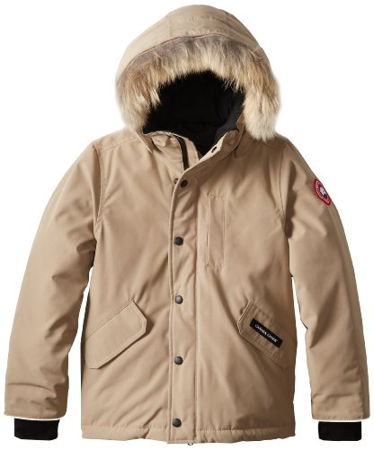 Canada-Goose-Youth-Logan-Parka-Tan-X-Small