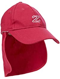 Zunblock Cap Protec Casquette protège-nuque enfant Cerise 54-58