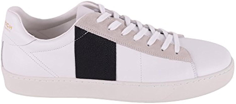 Woolrich Herren WF2030WF28W412 Weiss Leder Sneakers