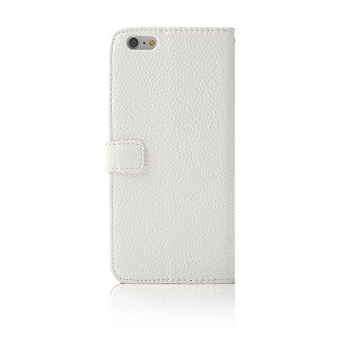 TechCode® iPhone 7 Kristall Multi-Stil Flip Case PU Leder Brieftasche Schutzhülle Strap Portable Handytasche Anti-Scratch Shell Cash Pouch ID Card Slot Magnetverschluss (iPhone 7, A07) A09