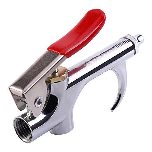 Garosa Pistolet à air comprimé Kit d'accessoires pour compresseur d'air avec buse compacte en Alliage de Zinc retirant l'outil de Pistolet