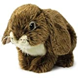 Anna Club acp16801–Figura de peluche Conejo de peluche 25cm, Marrón, animales de peluche