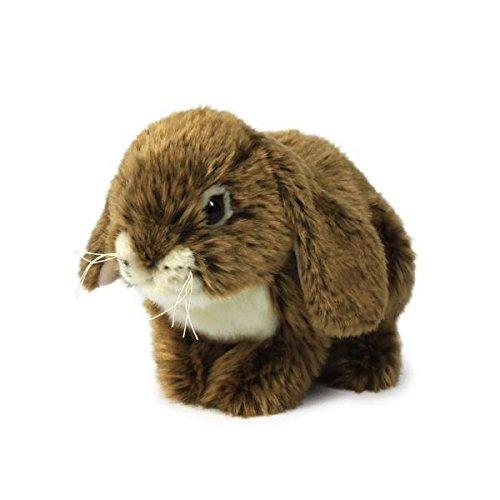 P16801 - Plüschfigur Kaninchen Sitzend 25 cm, braun, Plüschtiere (Plüsch-kaninchen)