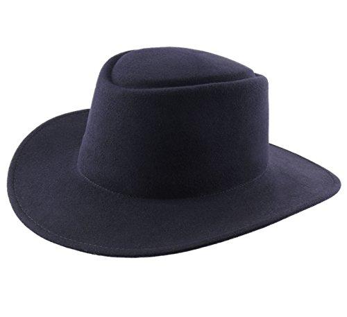 Classic Italy - Chapeau Fedora imperméable Large Bord - 5 Coloris - Homme ou Femme Nude Cordobes