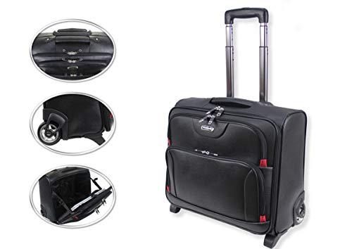 Generic EL Cabin Bagtrading Offi Bag Trolley Laptop Aktentasche Reisetasche Büro Kabinentasche mit Rollen Lapto