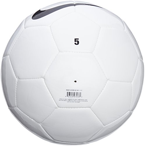 Nike Team Training Ball - White White Black  Size 5