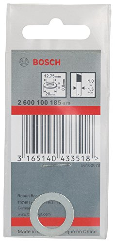 Bosch Professional Reduzierring für Kreissägeblätter, 20 x 12,75 x 0,8 mm, 2600100185