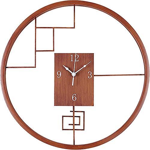 SJQ Uhr und Uhr Wohnzimmer Individuelle Kreative Mode Uhr Neue Chinesische Schlafzimmer Haushalt...
