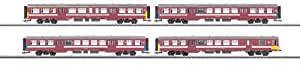 Märklin - 43542 - Modélisme Ferroviaire - Wagon - Kit Train de Banlieue - SNCB