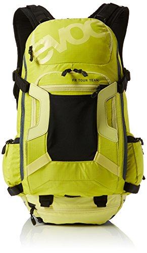 EVOC Sports GmbH Herren FR Tour Team 30L Protektor Rucksack, Sulphur-Yellow, S