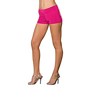 DreamGirl-4575Roxie caliente corto disfraz, rosa, pequeño/mediano