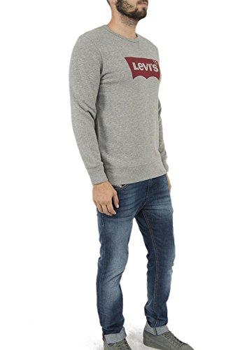 Levi's Herren, Sweatshirt, Graphic Crew B Grau