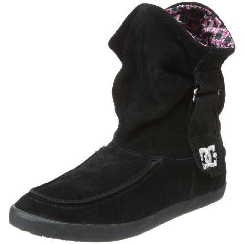 DC - - Twilight Se femmes Midtop Chaussure vulcanisé Black/Silver
