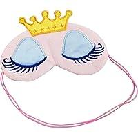Unicoco Augenmaske,18*8CM Zoll Prinzessin Schatten Abdeckung Augenbinde Schild für Reisen, Schlafen, Ruhe preisvergleich bei billige-tabletten.eu