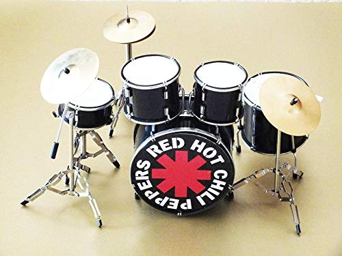 RGM342 Chad Smith Red Hot Chili Peppers Miniaturschlagzeug
