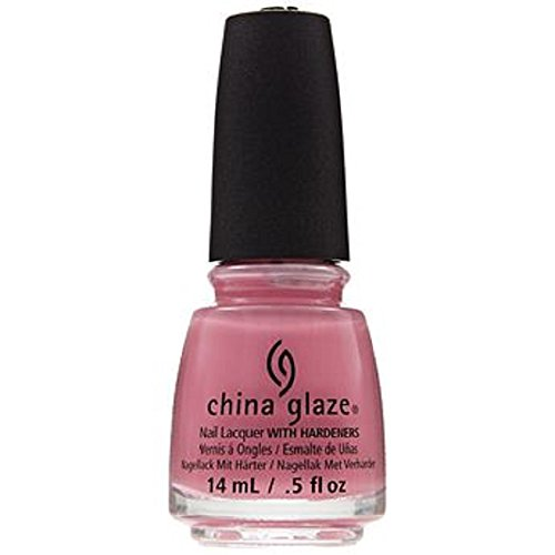 China glaze Nail Lacquer - Belle Of A Baller (Bright Pink Crème), 14 ml