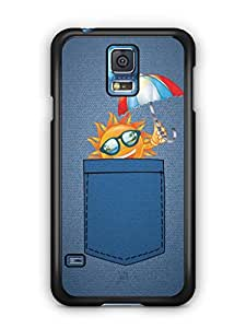 YuBingo Sun in Jeans Mobile Case Back Cover for Samsung Galaxy S5