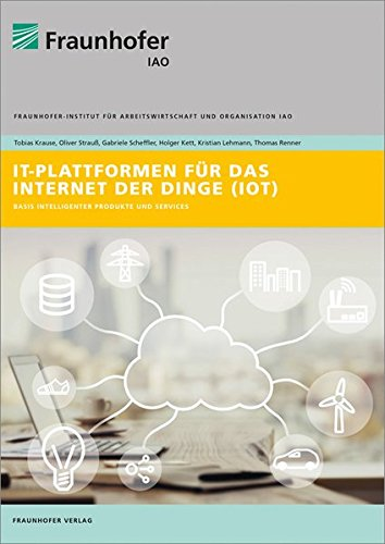 IT-Plattformen für das Internet der Dinge.: Basis intelligenter Produkte und Services.