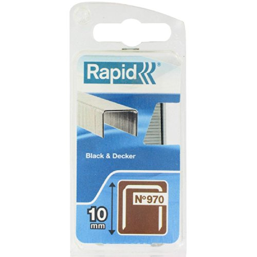 Agrafe n°970 Rapid Agraf - Hauteur 10 mm - 900 agrafes