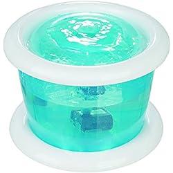 Trixie Bubble Stream Distributeur Automatique d'eau pour Chien Bleu/Blanc 3 L