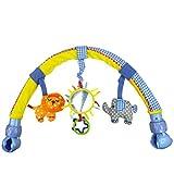 BABYBON Spielbögen Spielzeug Kinderwagen Bett Buggy mit Rassel und BB Gerät (B)