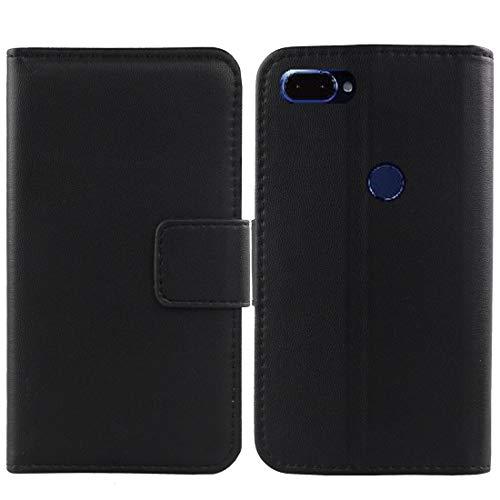 Gukas Design Echt Leder Tasche Für Archos Core 60s 6