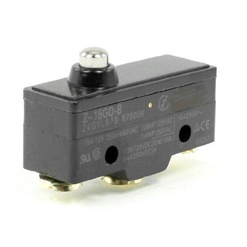 DealMux Short Push-Plunger Normalerweise Öffnen / Schließen Grund Endschalter, Z-15GD-B (Endschalter Schließen)