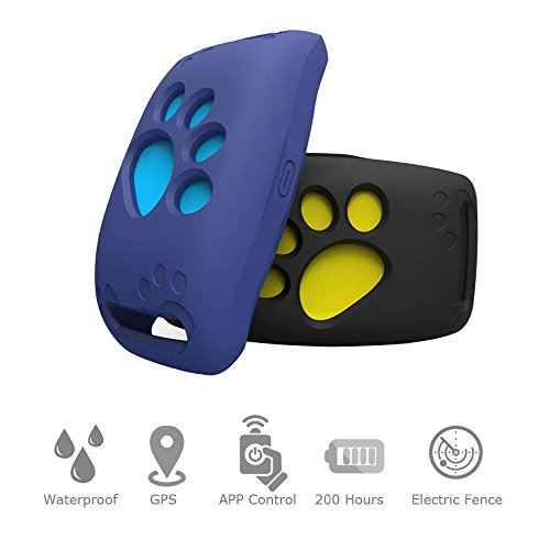 WWSUNNY Collier GPS Pet Tracker