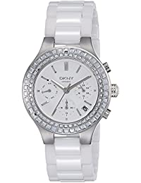 DKNY End of Season Chambers Chronograph White Dial Women's Watch - NY2223I