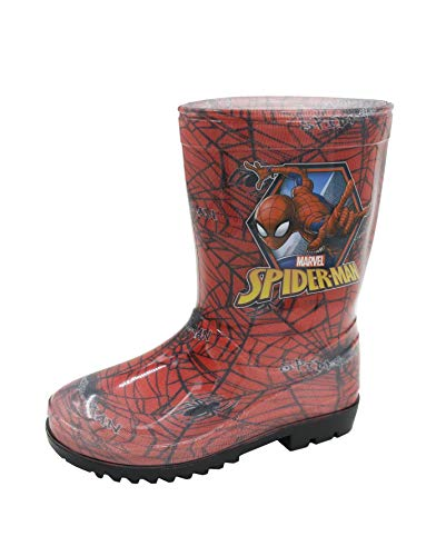 Childs Marvel Ultimate Spiderman Soputan Wellington Boots