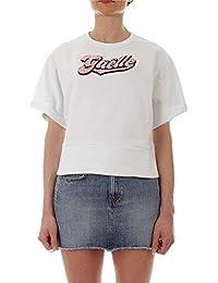 GAELLE PARIS Mujer GBD4443WHITE Blanco Algodon T-Shirt
