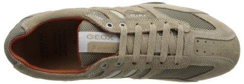 Geox Uomo Snake K, Baskets Basses Homme Beige (BEIGE/DK ORANGEC0845)