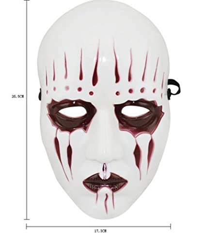 SLIPKNOT- JOEY - WHITE - AHIG - FULL FACE