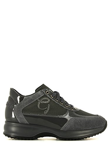 Grace shoes M907 Scarpa lacci Donna Antracite 35